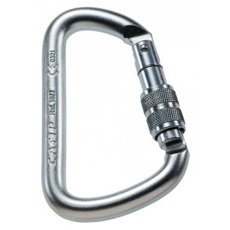 Connettore A D Lock In Acciaio Zincato