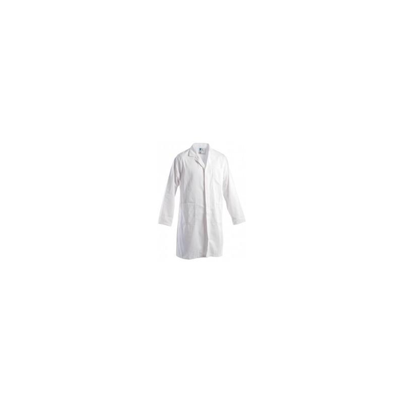 Camice Uomo Medico Cotone 100% Bianco
