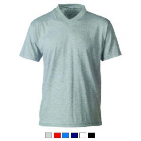 T-Shirt M/Corta Collo V 150Gr V-Neck