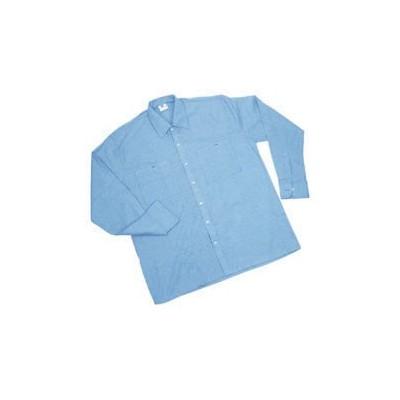Camicia Manica Lunga Azzurra Worker Rl74