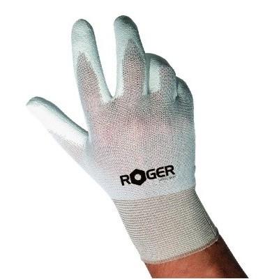Guanti Roger Flexibo 850 Ny/Pu Bianco