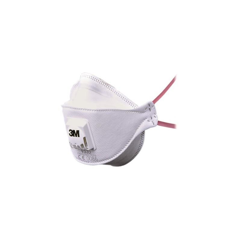 Respiratore 3M 9332+ Ffp3 Nr D C/Valvola