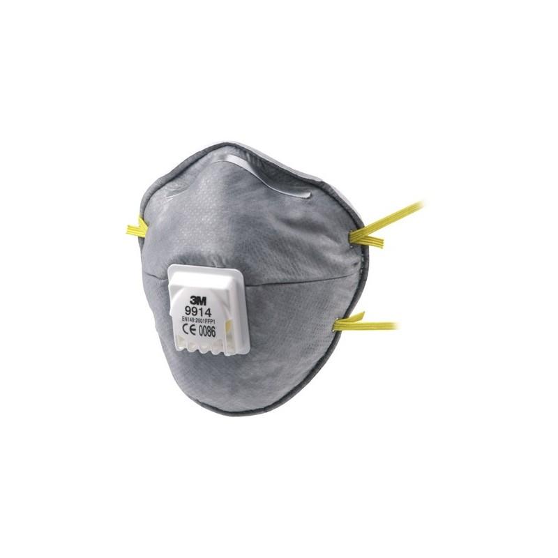 Respiratore 3M 9914 Ffp1 Nr D C/Valvola