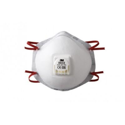 Respiratore 3M 8833 Ffp3 R D C/Valvola