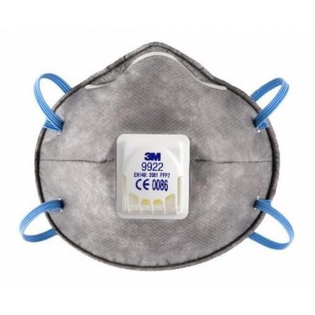 Respiratore 3M 9922 Ffp2 Nr D C/Valvola