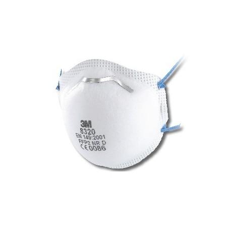 Respiratore 3M 8320 Ffp2 Nr D