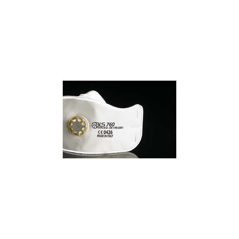 Respiratore Ffp3 Rd C/Valvola Bls 760
