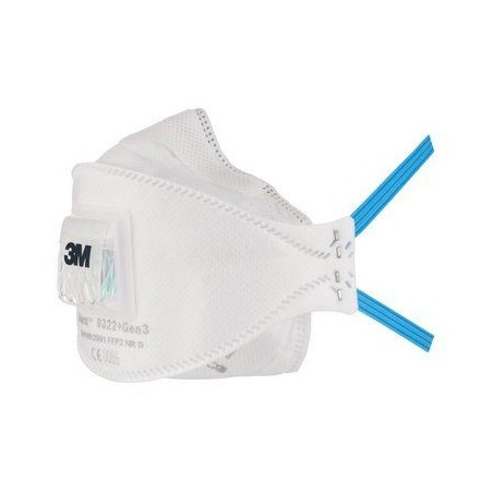 Respiratore 3M 9322+Gen3 Ffp2 C/V *New*