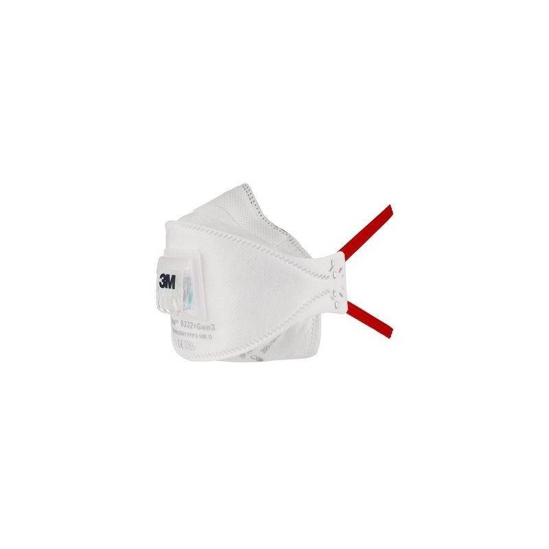 Respiratore 3M 9332+Gen3 Ffp3 C/V *New*