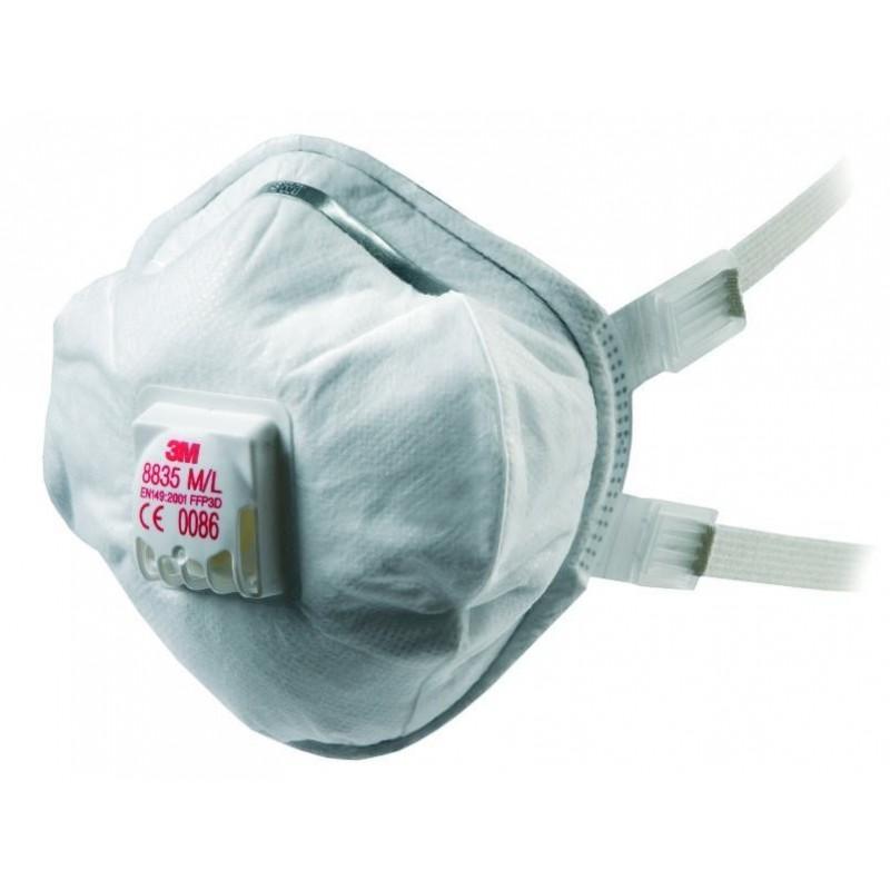 Respiratore 3M 8835+ Ffp3 R D C/Valvola