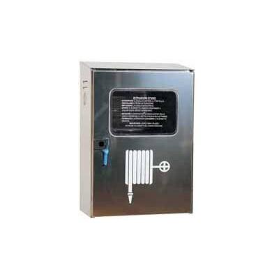 Cassetta Acciaio Inox Uni45 X Est.C/Sig.
