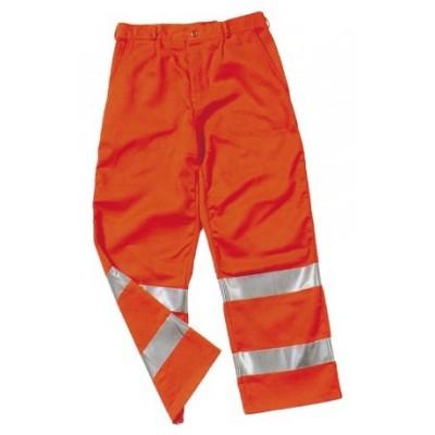 Pantalone Alta Visibilita' Arancione