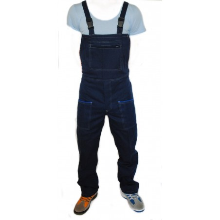 Salopette Massaua Blu Worker Sg606Bl