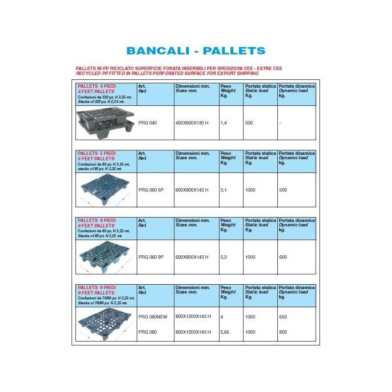 Pallets In Pp Nero Mm 400X600X143 H