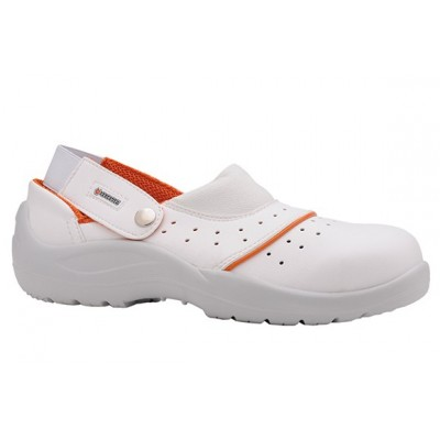 Sandalo Bianco Base B505 Sb C/Cinturino