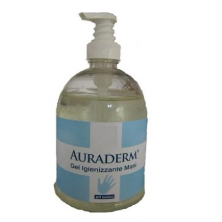 Gel Igienizzante Auraderm C/Dosat.500 Ml