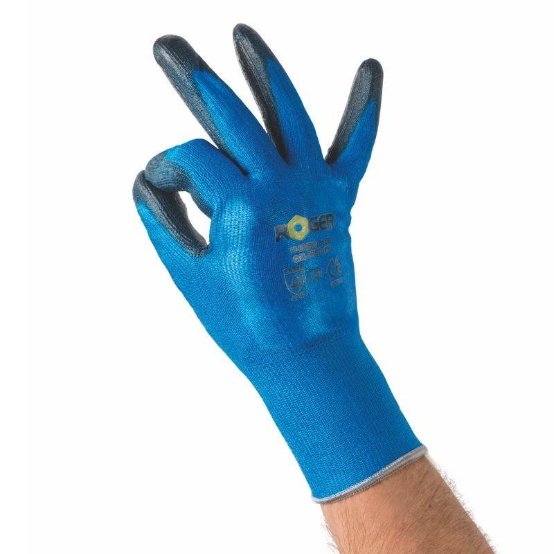Guanti Roger Flexibo Blue Colored 856
