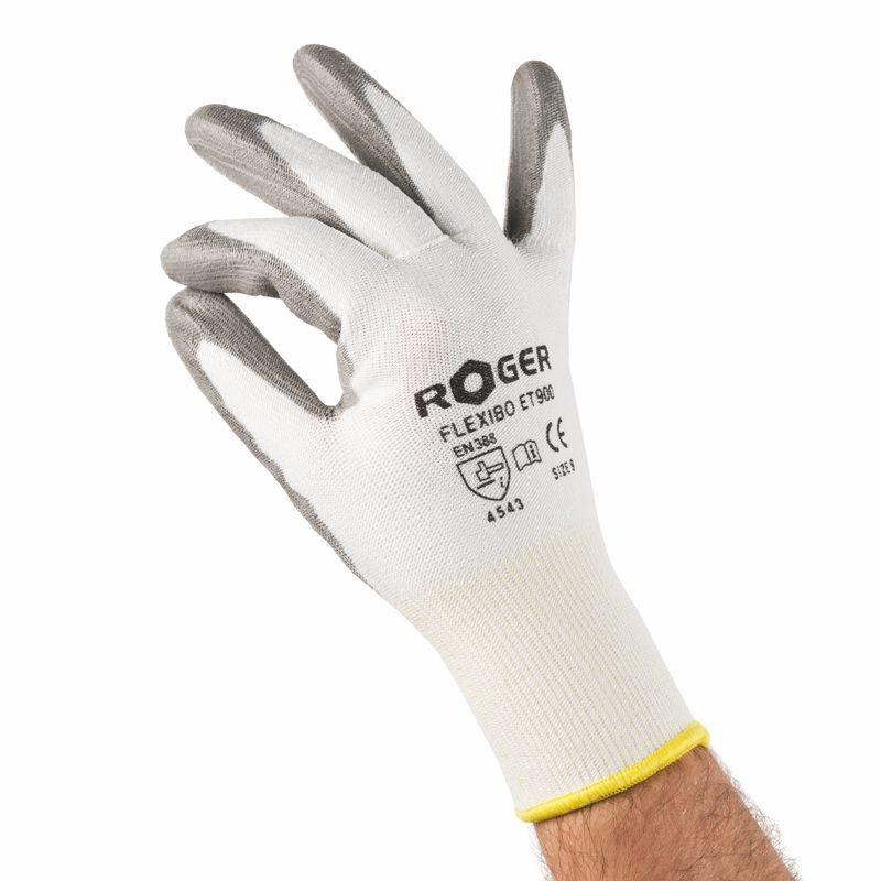 Gloves Roger Flexibo Et900 White