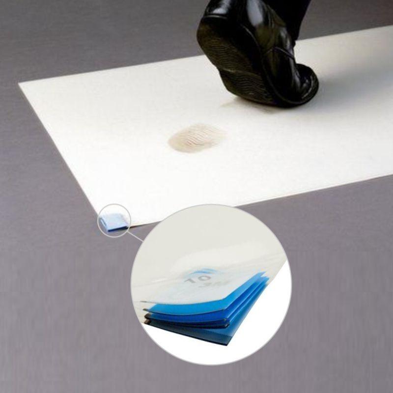 Tappeto anticontaminante adesivo 3m serie Nomad  costituito da 40 fogli usa e getta