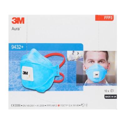 3M™ Aura™ Respiratore monouso 9432+