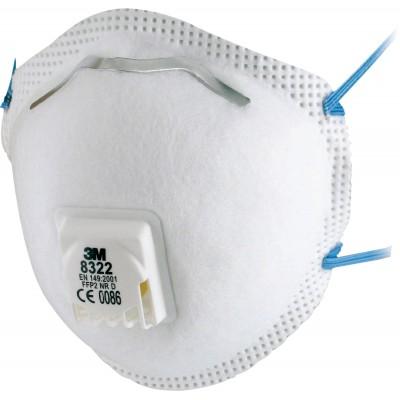 3M™ Respiratore monouso 8322, FFP2 NR D, con valvola
