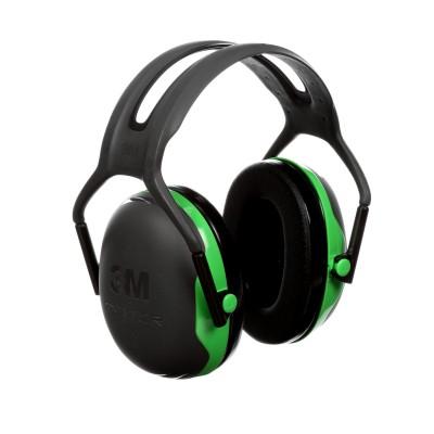 3M™ PELTOR™Cuffie auricolari Serie X,   X1A Cuffia temporale verde  27 dB