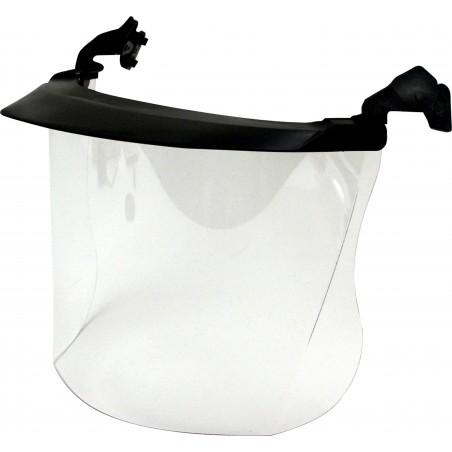 Visiera 3M™, visorino corto, policarbonato, trasparente, V4FK