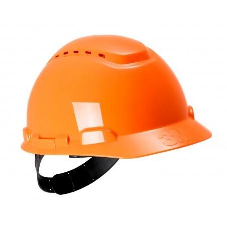 3M™ Elmetto rigido, senza cricchetto, ventilato, arancione, H-700C-OR