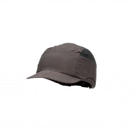 3M™ First Base™+ Bump Cap, grigio, visiera ridotta 55mm, 2014300