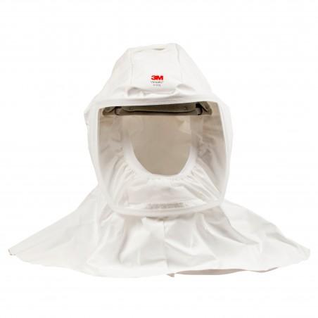 3M™ S-533L Cappuccio con copertura collo e spalle in Ventflex 160 taglia L