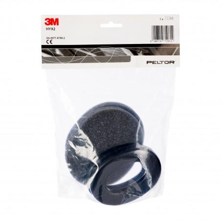 Kit igienico 3M™ PELTOR™ HYX2 per cuffie auricolari X2-A / X2-P3E, 10/confezione