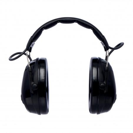 3M™ PELTOR™ ProTac™ III Cuffia Protettiva, 26 dB, nero,coppe sottili, con bardatura temporale, MT13H220A
