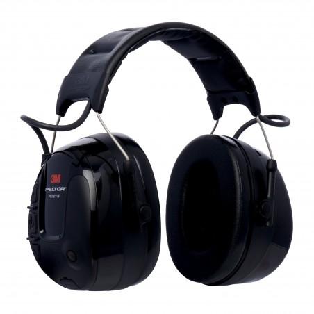 3M™ PELTOR™ ProTac™III Cuffia Protettiva, nero, 32 dB, con bardatura temporale, MT13H221A