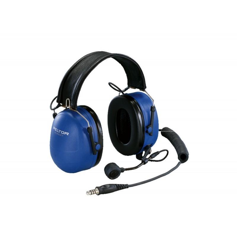 Cuffie 3M™ PELTOR™ per comunicazione a due vie EX, 33 dB, bardatura temporale, MT7H79F-50