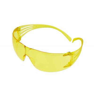 3M™ SecureFit™ Occhiali di protezione, antigraffio e anti-appannamento, lenti gialle, SF203AS/AF-EU