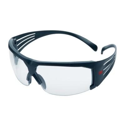3M™ SecureFit™  SF601RAS-EU Occhiali di protezione, montatura grigia, resistenti ai graffi, lenti trasparenti in PC (AS RAS)