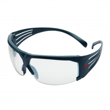 3M™ SecureFit™ SF610AS-EU Occhiali di protezione, montatura grigia, antigraffio, lenti da interno/esterno specchiato in PC
