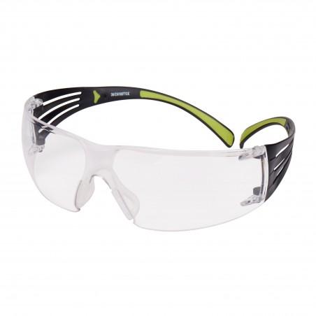 Occhiali di protezione 3M™ SecureFit™ SF401AS/AF-EU, antigraffio e anti-appannamento, lenti trasparenti