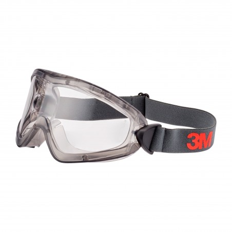 3M™ 2890 Safety Goggles, Indirect Vented, Scotchgard™ Anti-Fog, Clear Lens, 2891-SGAF