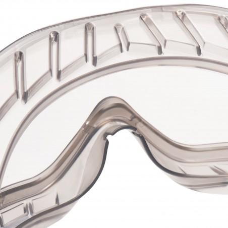 3M™ 2890S Occhiali a mascherina di protezione, lente trasparente in PC (AS/AF), a tenuta di gas, banda elastica