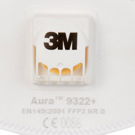 3M™ Aura™ Respiratore monouso 9322+