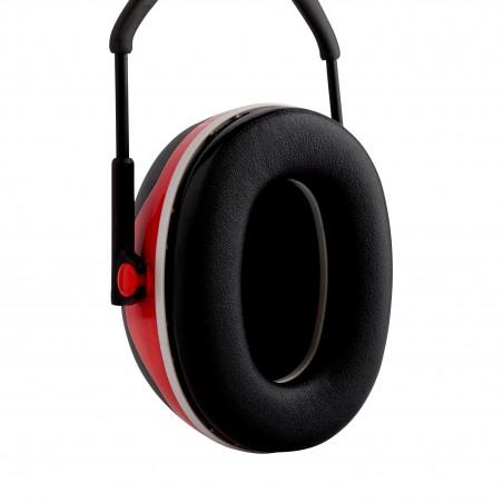 3M™ PELTOR™Cuffie auricolari Serie X,   X3A Cuffia temporale rossa  33 dB