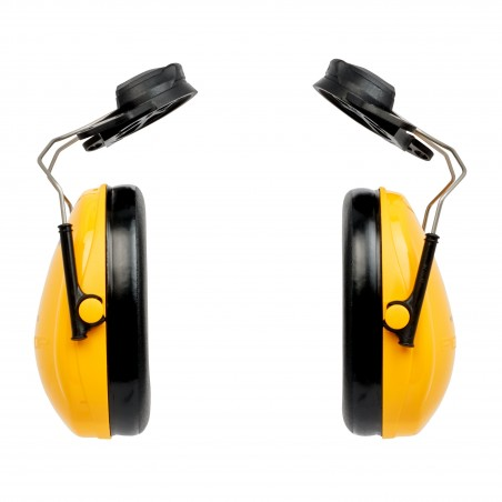 3M™ PELTOR™ Optime™ I Cuffie auricolari, 26dB, giallo, con attacco per elmetto, H510P3A-405-GU