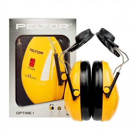 3M™ PELTOR™ Optime™ I Cuffie auricolari, 26dB, giallo, con attacco per elmetto, H510P3K-405-GU