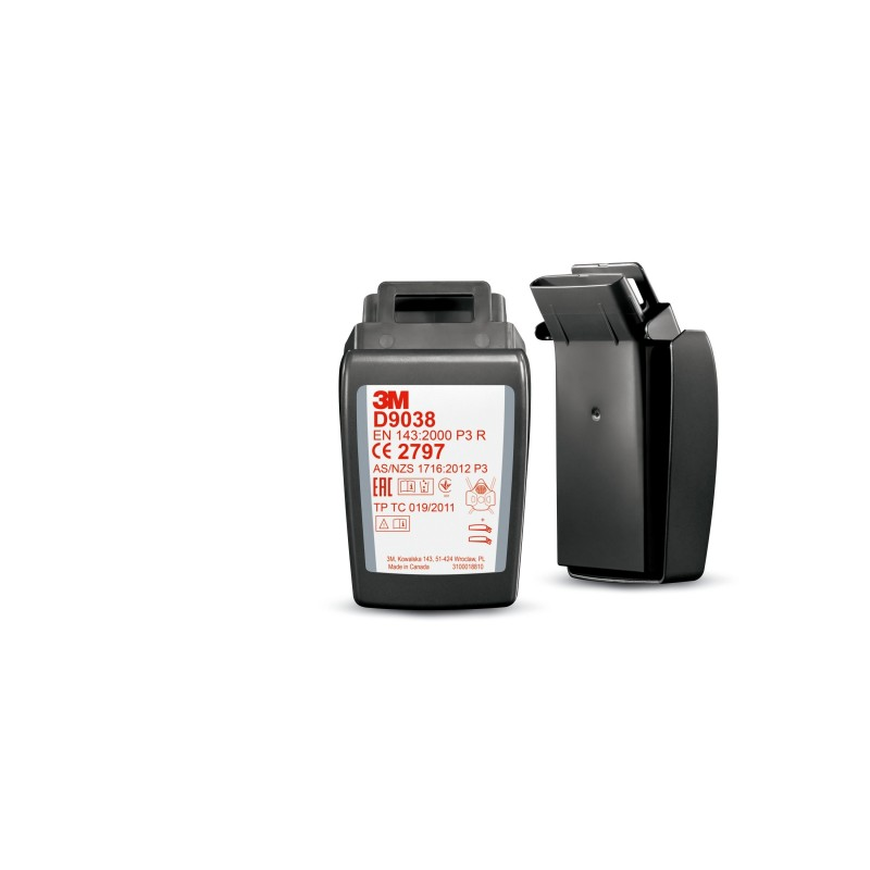 3M™ Secure Click™ Filtro P2/3, D9038, 80/case