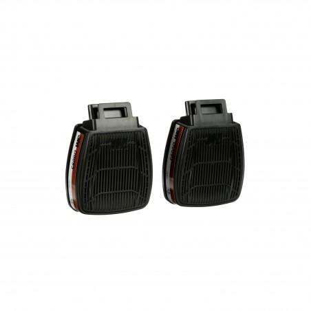Cartuccia A2P3 R 3M™ Secure Click™ D8095, a doppio flusso