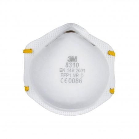 3M™ 8310 Respiratore monouso, FFP1 NR D , senza valvola