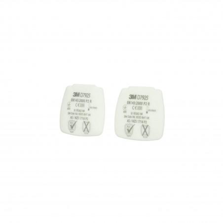Filtro antiparticolato P2 R 3M™ Secure Click™ di ricambio, D7925