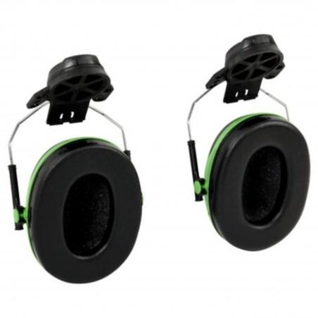 3M™ PELTOR™ Cuffie auricolari Serie X,   X1P3 Cuffia attacco elmetto verde  26 dB