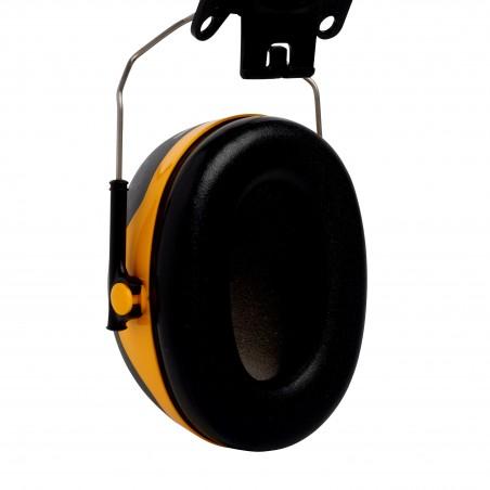 3M™ PELTOR™ Cuffie auricolari Serie X,   X2P3 Cuffia attacco elmetto gialla  30 dB